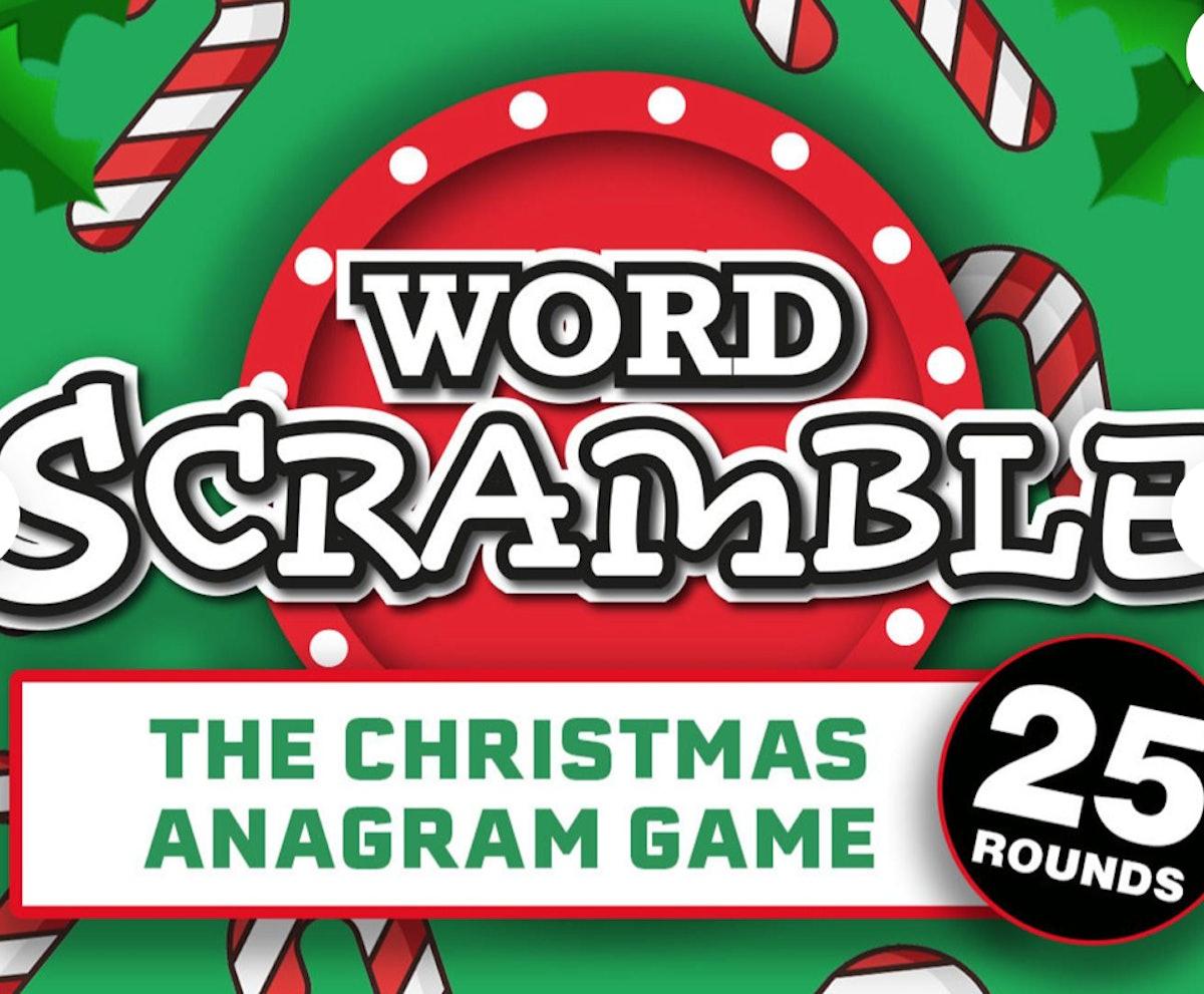 Word Scramble Christmas Edition — RoomVibes