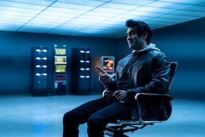 KUMAIL NANJIANI as BARK MULTIVERSE in DEATH TO 2020 via Netflix's press site