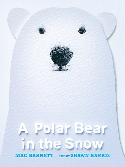'A Polar Bear In The Snow'
