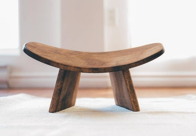Wooden Kneeling Ergonomic Meditation Bench