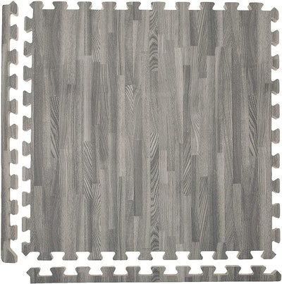Premium Soft Wood Interlocking Foam Tiles