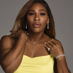 Serena Williams' latest jewelry collection is called Unstoppable With All Your Heart.
