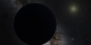 NASA artist's impression of Planet 9