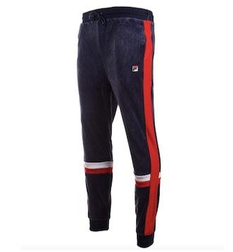 Fila Silvano Velour Track Pants