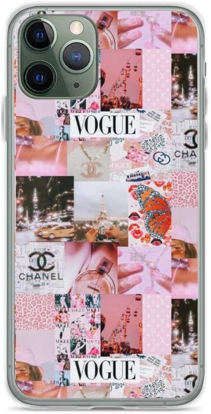 Aesthetic Pink Y2k Theme Collage Phone Case