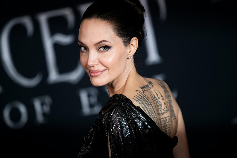 Angelina Jolie beauty looks and evolution over time.