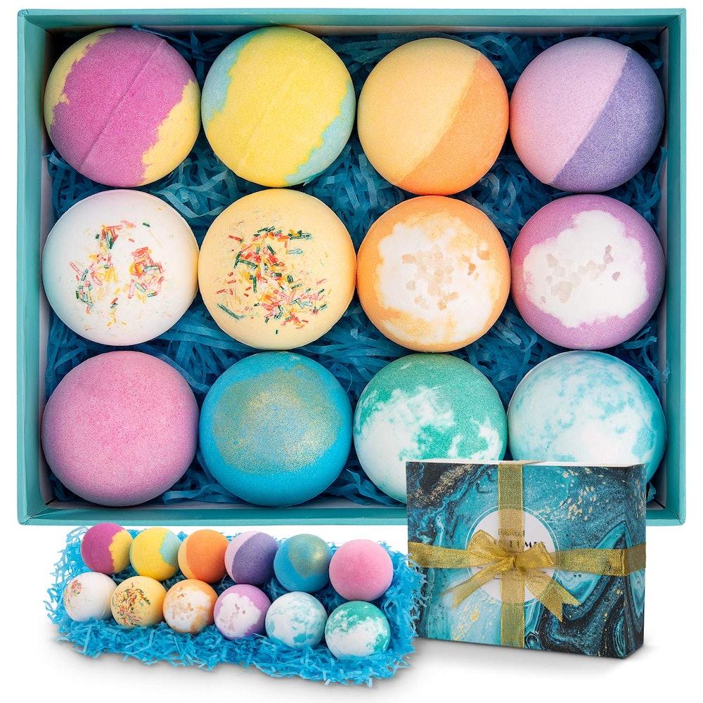 Ribivaul Bath Bombs Gift Set (Set of 12)