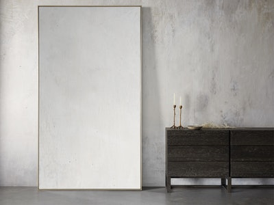 Linnea Grand Brass Mirror