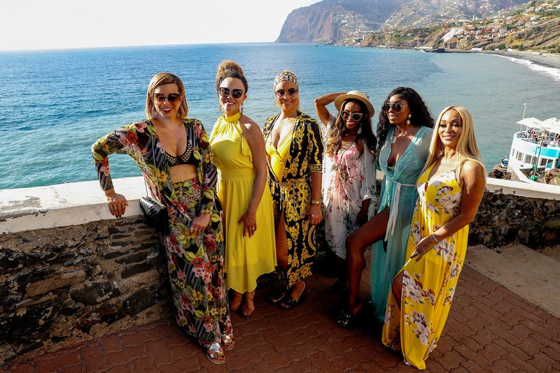 Robyn Dixon, Ashley Darby, Gizelle Bryant, Candiace Dillard, Wendy Osefo, Karen Huger in 'RHOP' Season 5 via Bravo's press site