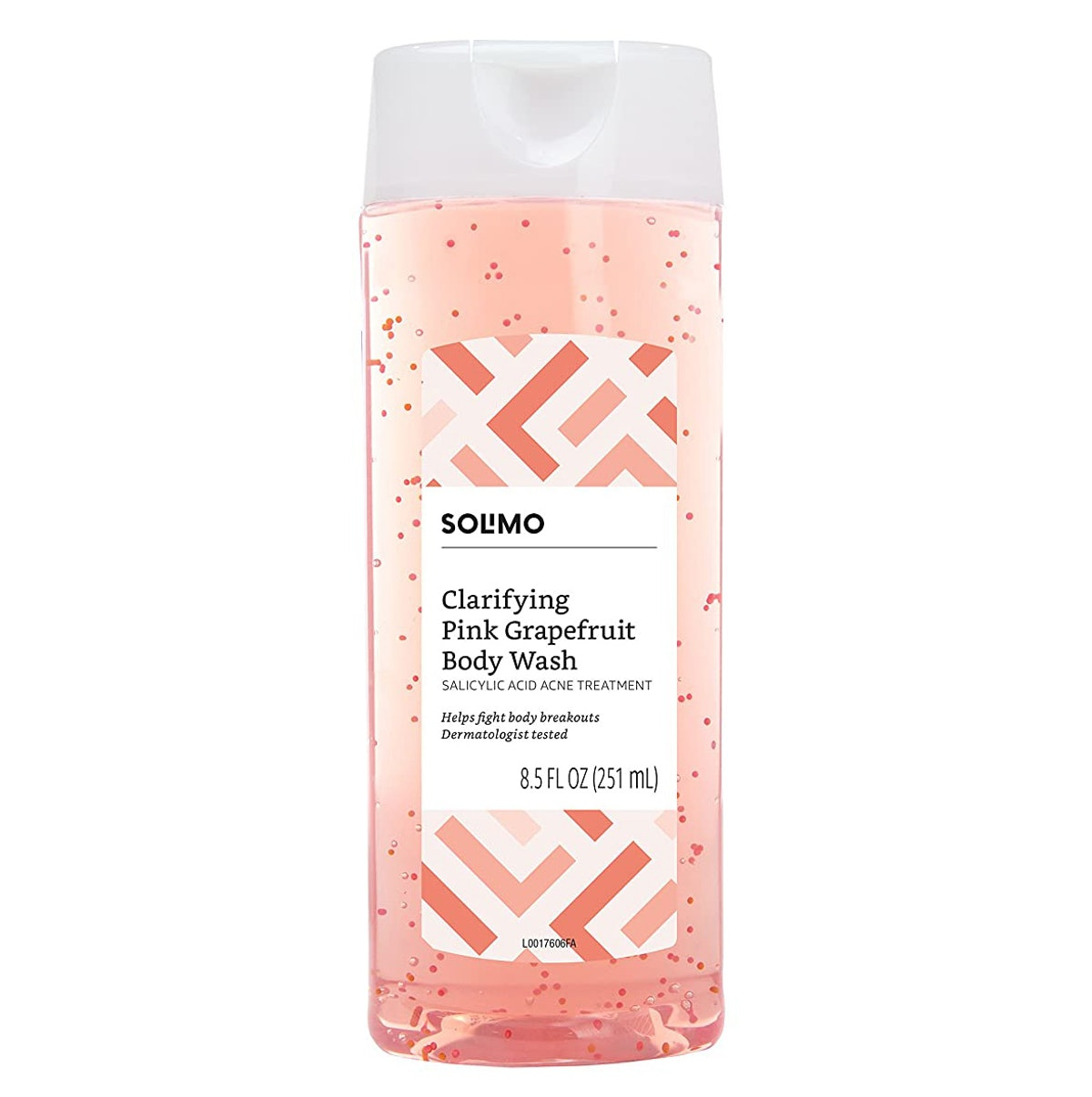 Solimo Clarifying Pink Grapefruit Body Wash