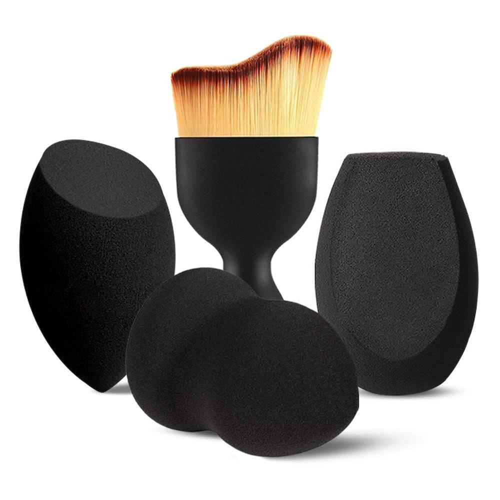 BEAKEY Makeup Sponges (4-Pieces)