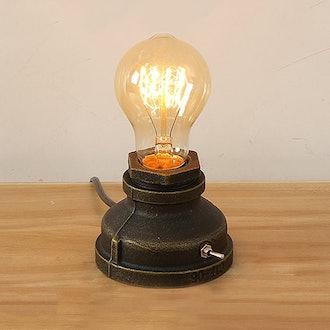 INJUICY Vintage-Style Table Lamp