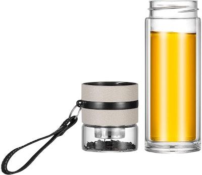 Ceoon Glass Tea Water Bottle