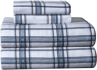 Pointehaven Heavy Weight Flannel Sheet Set (Queen)