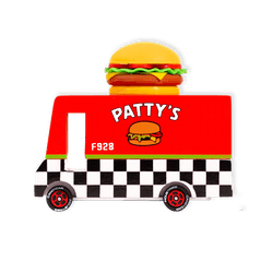 Candylab Hamburger Truck Toy