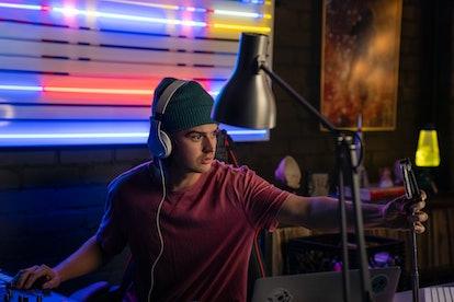 JOE KEERY as DUKE GOOLIES in DEATH TO 2020 via Netflix's press site