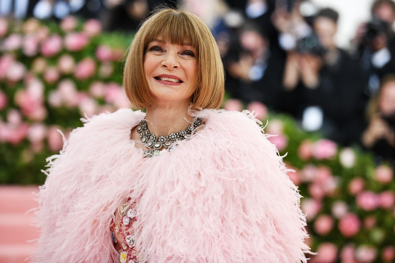 Anna Wintour's hair from the '80s until 2020.