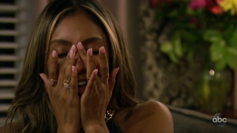 Tayshia surprised by Ben's return on 'The Bachelorette'