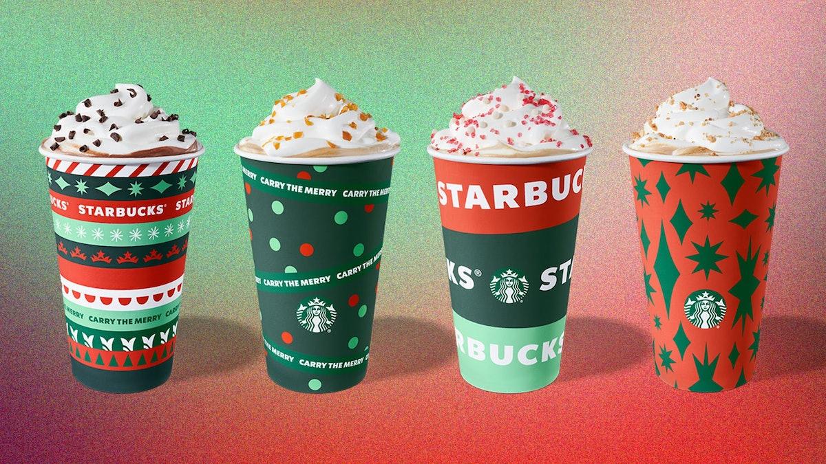 Starbucks made an ASMR video of its Peppermint Mocha.