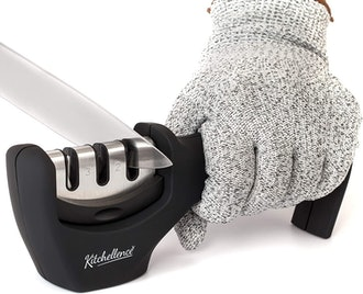 KITCHELLENCE Kitchen Knife Sharpener