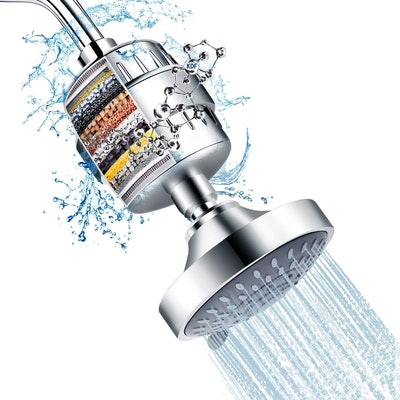 FEELSO Shower Head and 15 Stage Shower Filter