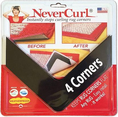 NeverCurl V-Shape Rug Gripper