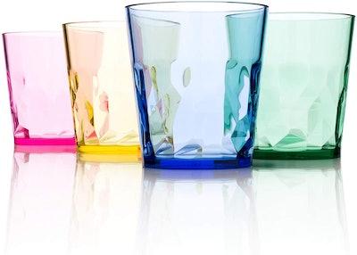 Scandinovia Unbreakable Premium Juice Glasses (4-Pack)