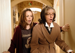 Rachel McAdams and Diane Keaton in 'The Family Stone'.