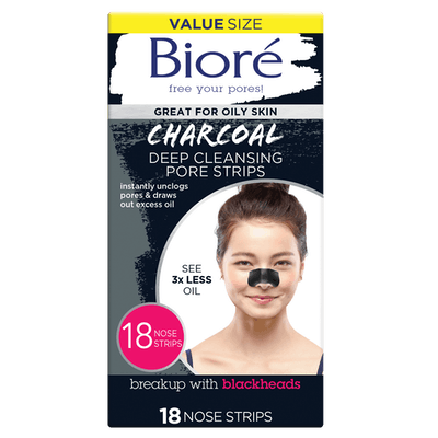 Charcoal Deep Cleansing Pore Strips