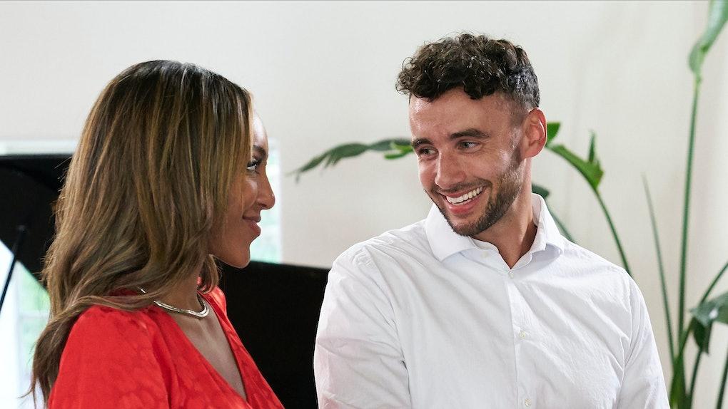 Tayshia and Brendan on 'The Bachelorette'