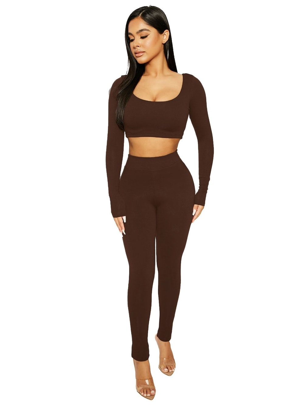Scooped Up Tight Legging Set