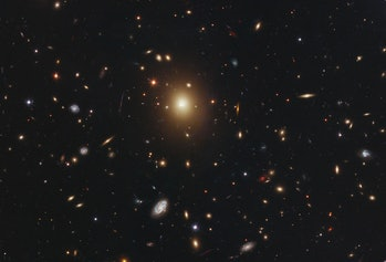 Abell 2261 galaxy cluster image by nasa