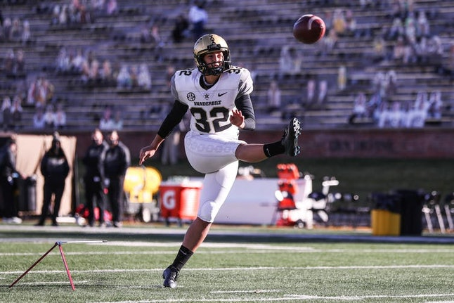 In 2020, Sarah Fuller of the Vanderbilt Commodores became the first woman to play in a Power Five college football game.