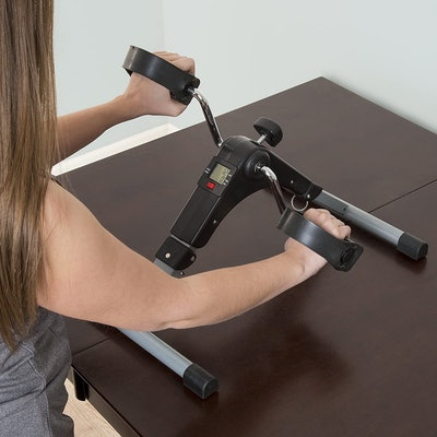 Wakeman Portable Folding Fitness Pedal Machine