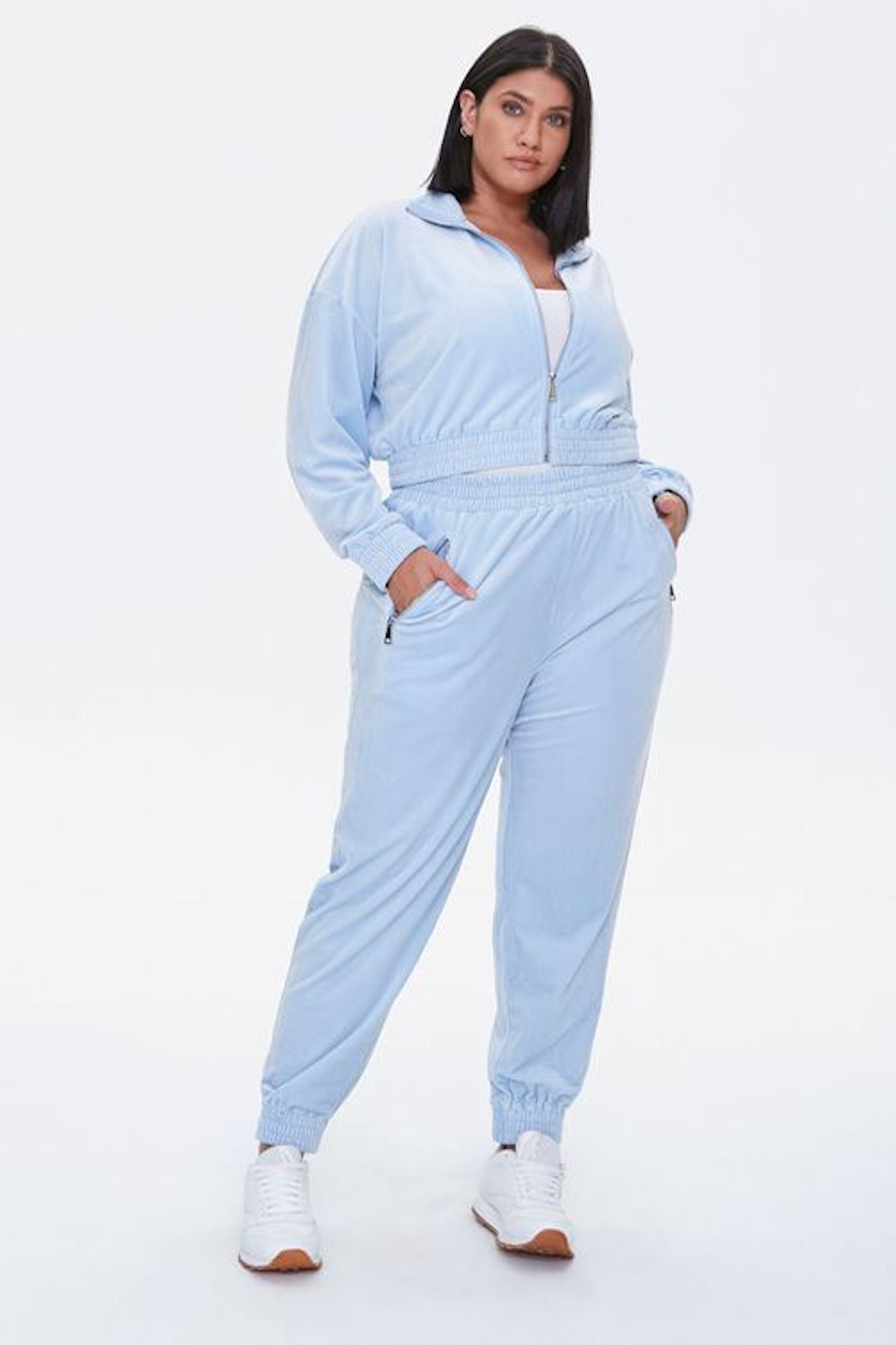 Forever 21 Plus Size Velour Joggers