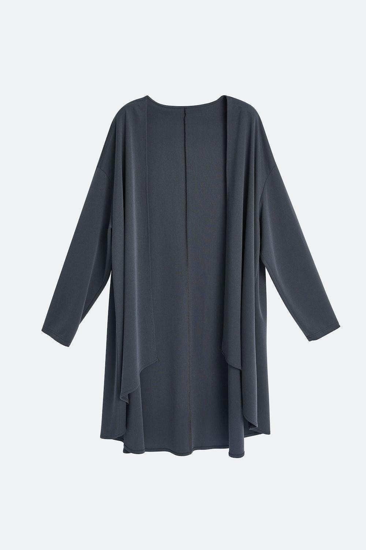 Cardigan-Style Slip On Robe
