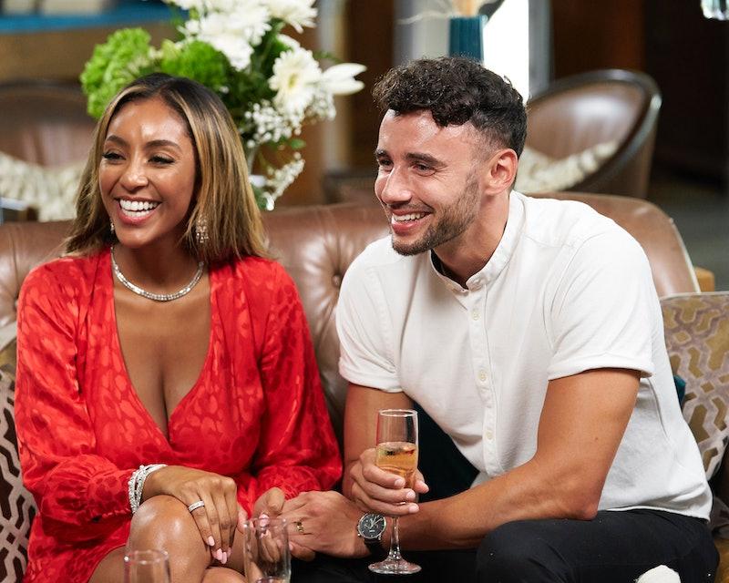 Tayshia Adams and Brendan Morais on 'The Bachelorette'