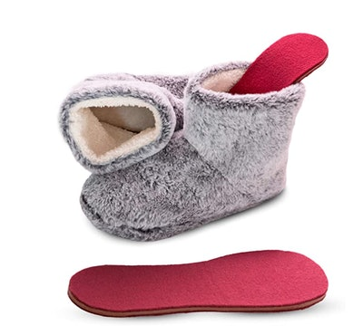Snook-Ease Microwavable Slippers