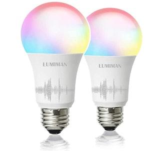 Lumiman Smart Light Bulbs (2-Pack)