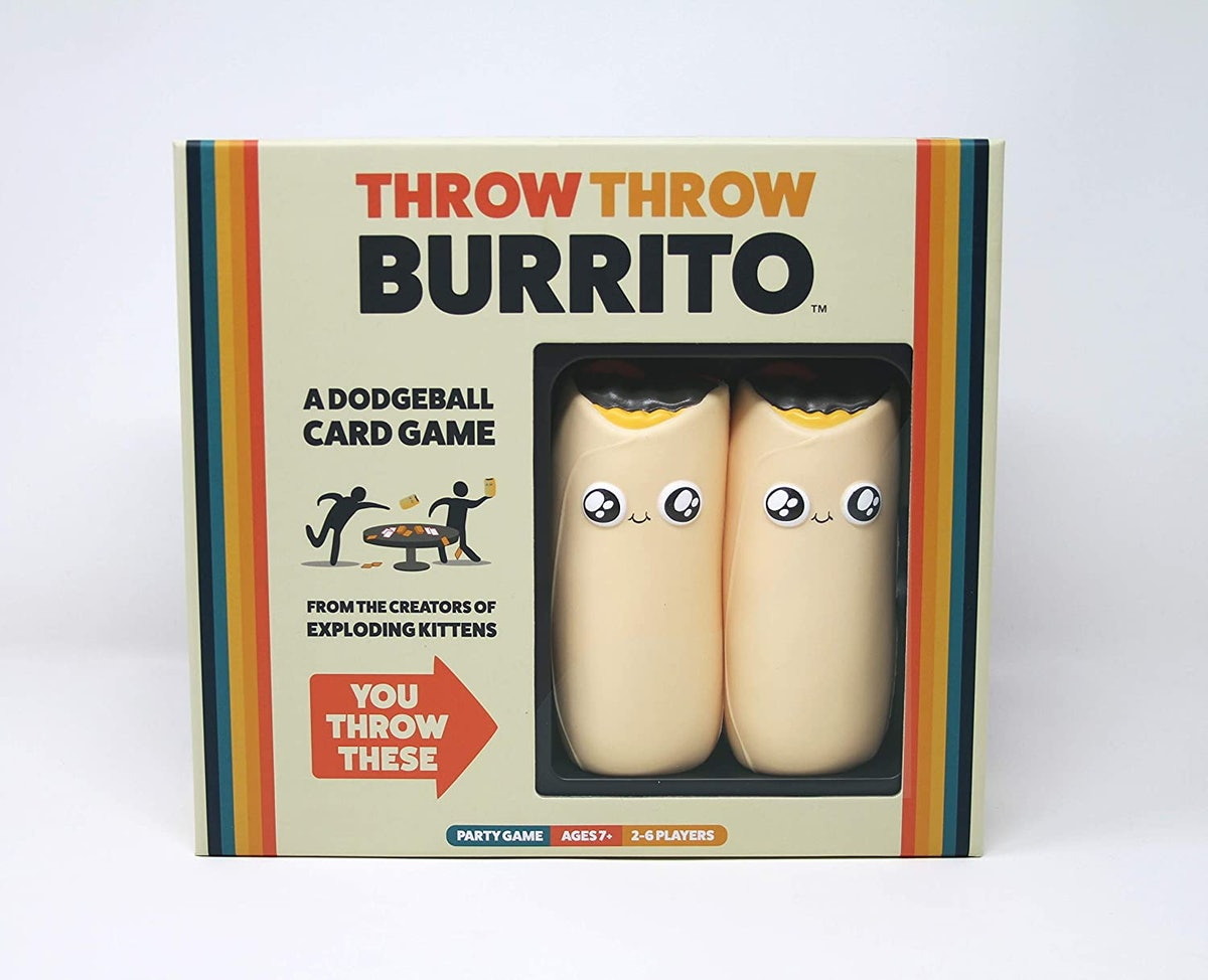 Exploding Kittens Throw Throw Burrito Card Game