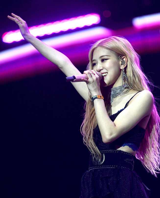 Rose of Blackpink performs at Coachella