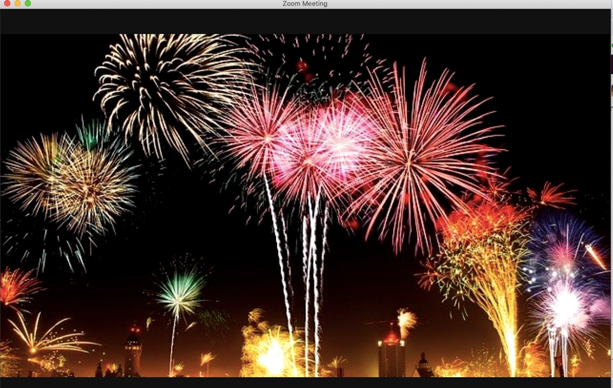 Here are 14 New Year's Eve Zoom backgrounds that'll light up your virtual countdown.