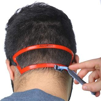 Revo Neck Neck Line Shaving Template