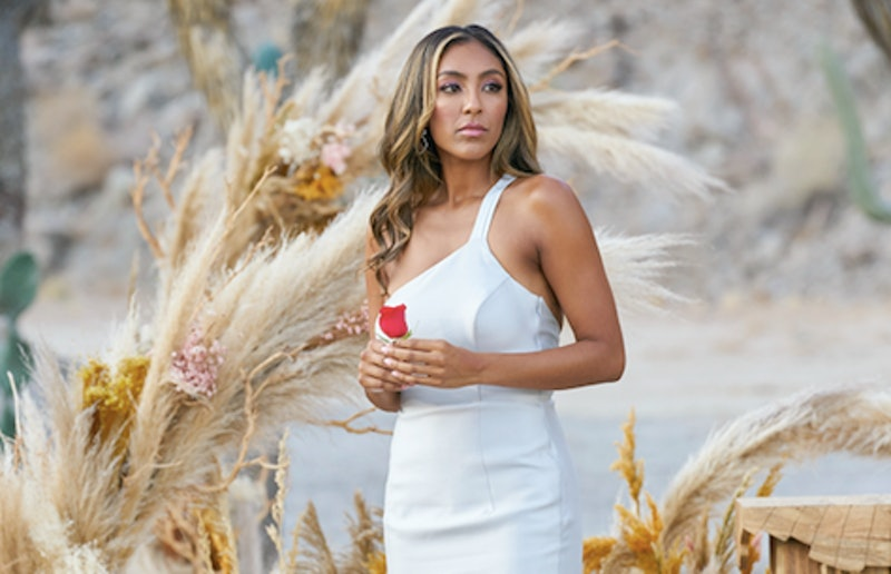 Tayshia Adams in 'The Bachelorette' finale