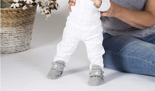 best baby booties that stay on