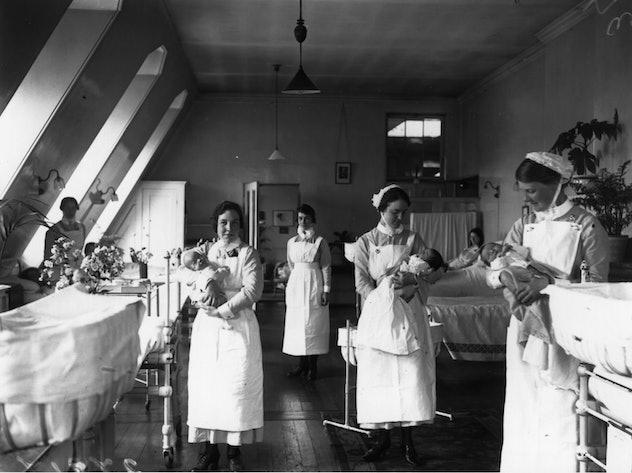 A 1925 birthing hospital