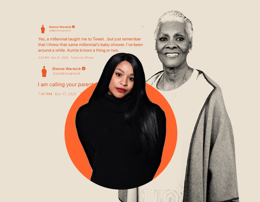 Brittani Warrick and her great-aunt Dionne Warwick.