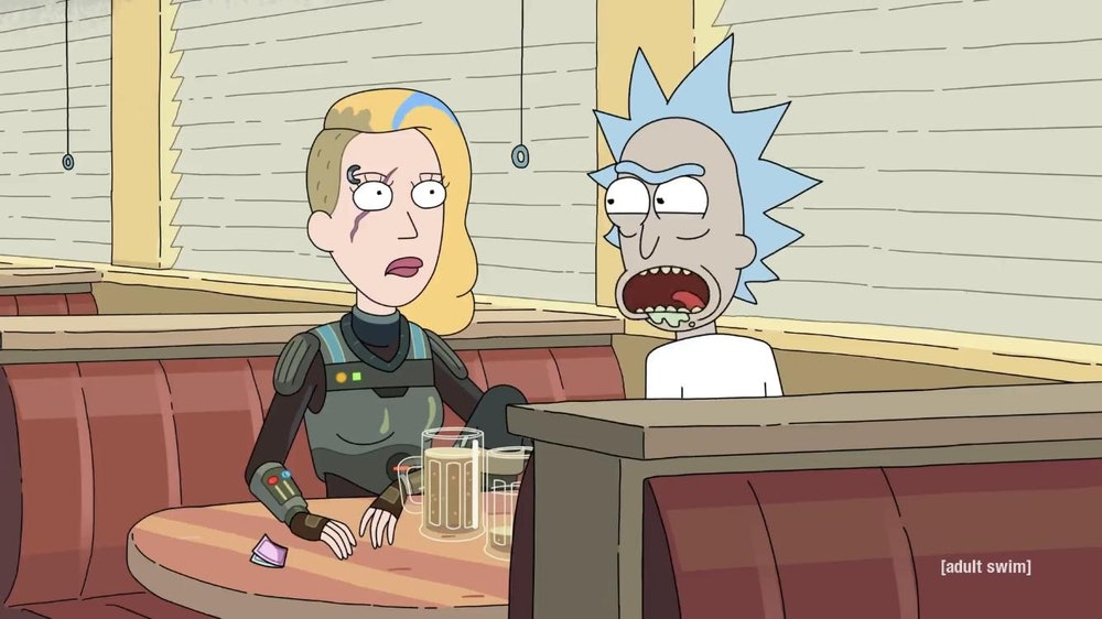 rick and morty rick and space beth beers