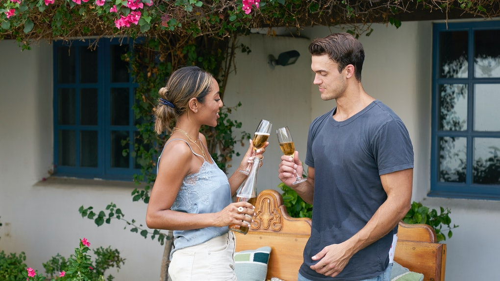 Tayshia and Ben on 'The Bachelorette'