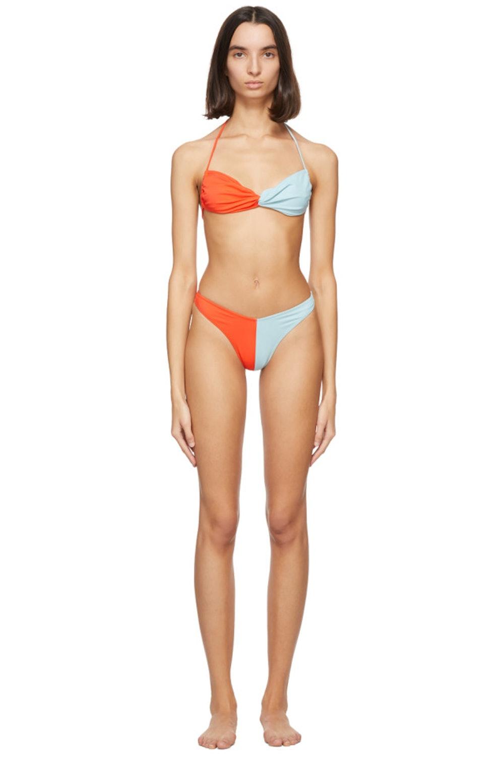 Red & Blue Margarita Bikini